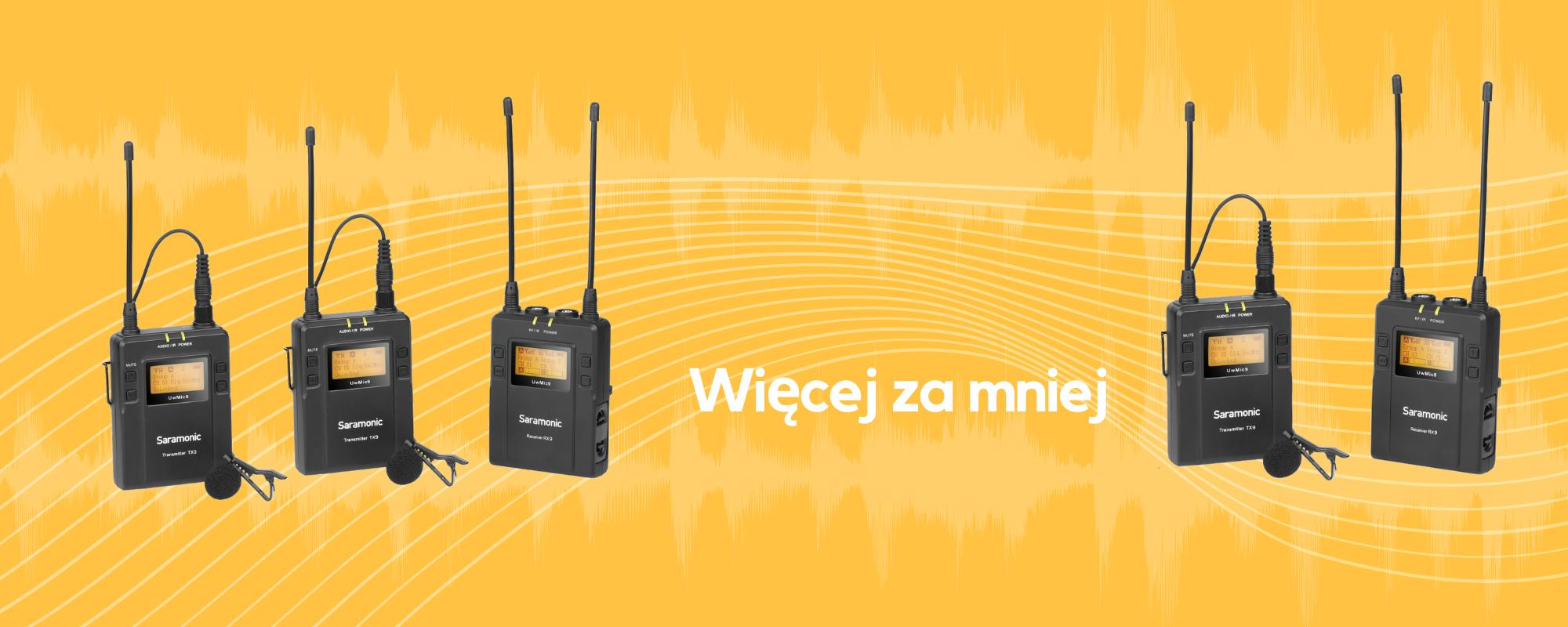 Mikrofony bezprzewodowe UwMi9
