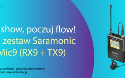 Wygraj zestaw Saramonic UwMic9 (RX9 + TX9)
