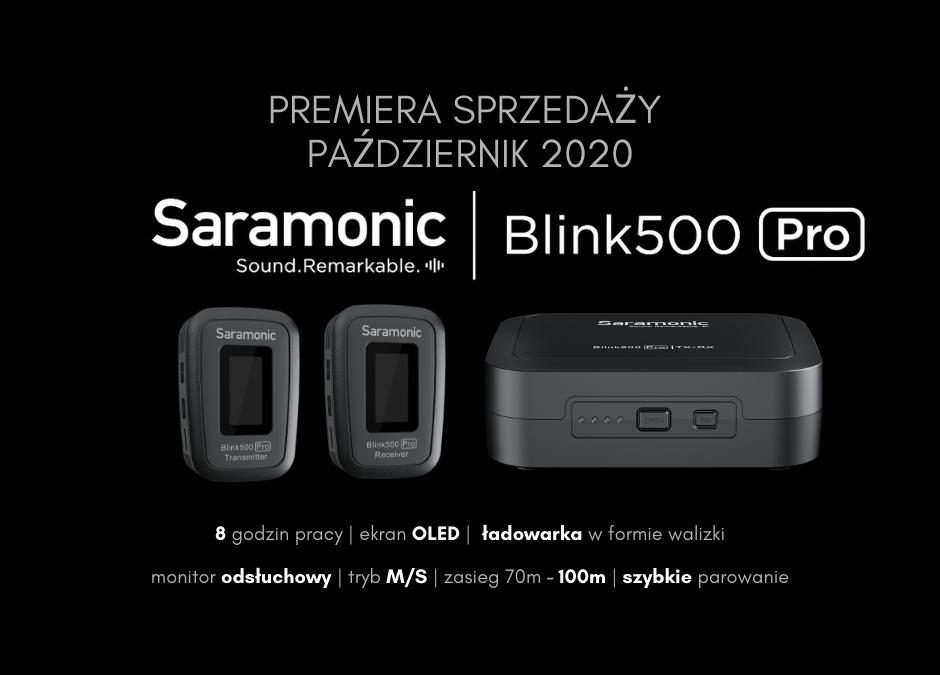 Blink500 Pro z przenośną ładowarką w zestawie