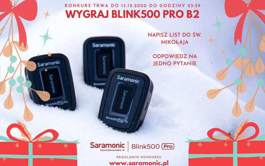 Wygraj zestaw Saramonic Blink500 Pro B2